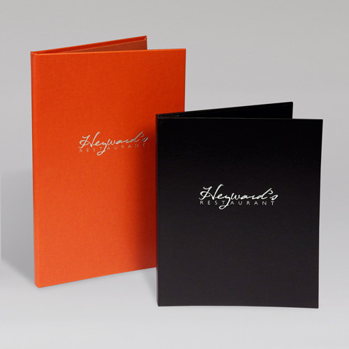 Heywards Menu Covers