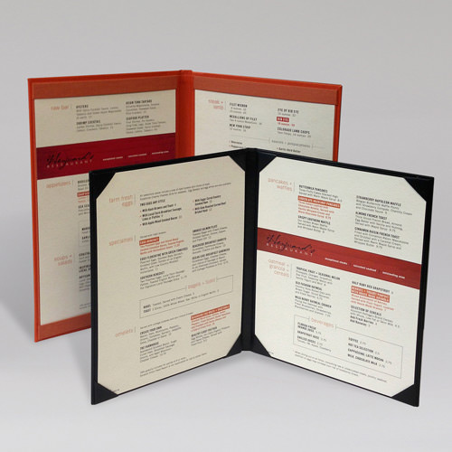 Heywards Menu Inserts