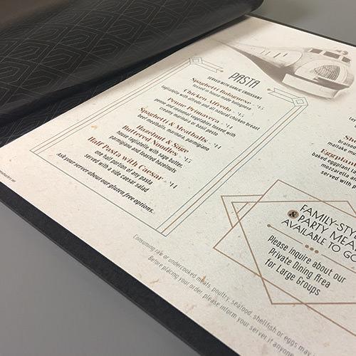 Menu Design Ideas | Portfolio | MenuMasters.net