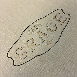 Cafe Grace Ultra Thin Menu Covers Decoration