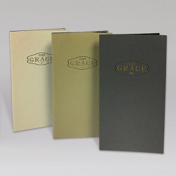 Cafe Grace Ultra Thin Menu Covers