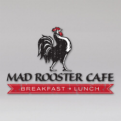Mad Rooster Cafe Logo