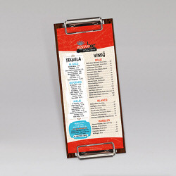 Miguel's Mex Tex Cafe Drink Laminated Synthetic Menu