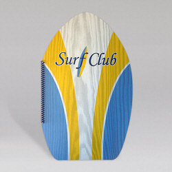 Surf Club Synthetic Plastic Menu Covers