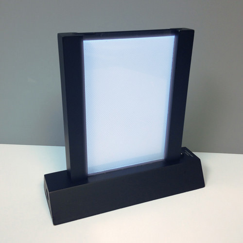 Lighted Table Stand with Call Button