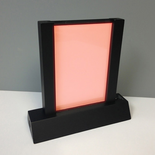 Lighted Table Stand with Call Button Activated