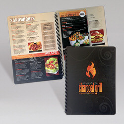 Signature Substrate Printed Menu