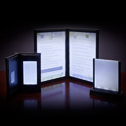 Lighted Menu Covers