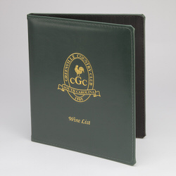 Wine & Drink Menu Covers